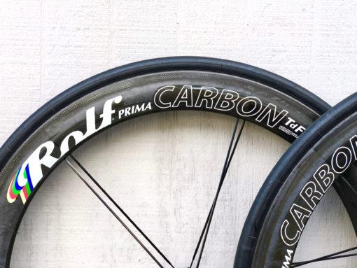 2013 Rolf Prima TDF 58 Carbon Tubular Wheelset
