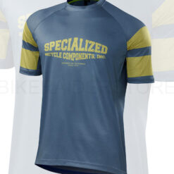 Specialized Men's Enduro Comp Short Sleeve Jersey Dust Blue - Medium