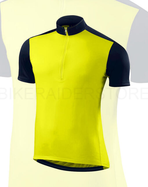 Specialized Men's RBX Short Sleeve Cycling Jersey Limon / Navy - Medium