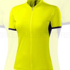 Specialized Women's RBX Sport Short Sleeve Jersey Limon / Deep Indigo - Medium