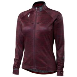 Specialized Women's Therminal Long Sleeve Jersey Black Ruby