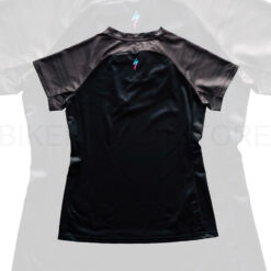 Specialized Women's Andorra Short Sleeve Jersey Black / Charcoal Lightspeed - M