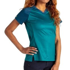 Specialized Andorra Long Sleeve Cycling Jersey Tropical Teal/Blue Lightspeed - M