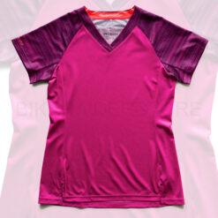 Specialized Andorra Short Sleeve Jersey Cast Berry / Acid Purple Lightspeed - M