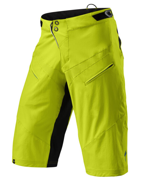 Specialized Men's Cycling Demo Pro Shorts Hyper Green / Black