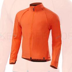 Specialized Men's Deflect Hybrid Cycling Jacket Neon Orange