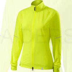 Specialized Women's Deflect Cycling Jacket Neon Yellow Brand New - Medium
