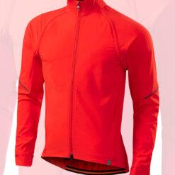 Specialized Men's Deflect Hybrid Cycling Jacket Moab Orange - Medium