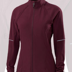 Specialized Women's Deflect Cycling Jacket Removable Sleeves Black Ruby - Medium
