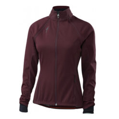 Specialized Women's Element 2.0 Hybrid Cycling Jacket Black Ruby - Medium