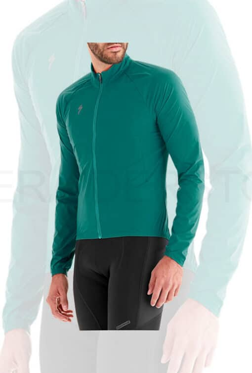 Specialized Men's Deflect Wind Cycling Jacket Marine Blue - Medium