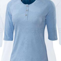 Specialized Women's Utility 3/4 Sleeve Cycling Jersey Sky Blue - Medium