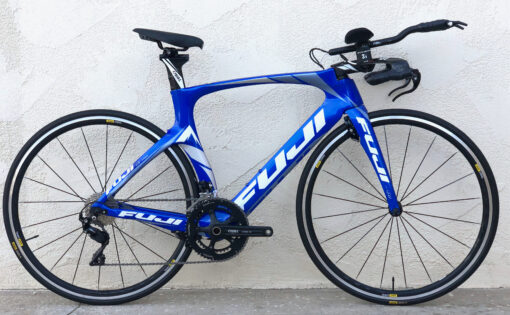 Fuji Norcom Straight 2.1 Shimano 105 Carbon Triathlon TT Bicycle 53 cm M/L Mavic