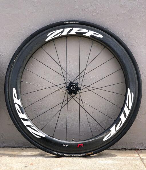 Zipp 404 Firecrest Carbon Tubular Wheelset Shimano/SRAM Rim Latest 77/177 Hubs