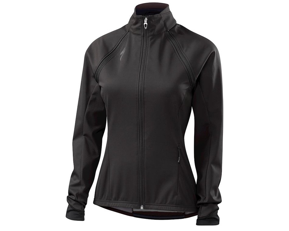 Specialized Women's Element 2.0 Hybrid Cycling Jacket Dark Carbon - Medium