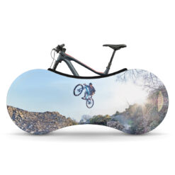 Indoor Bike Water Resistant Anti Dust Wheels Cover for Storage and Transportation - Freestyle Time