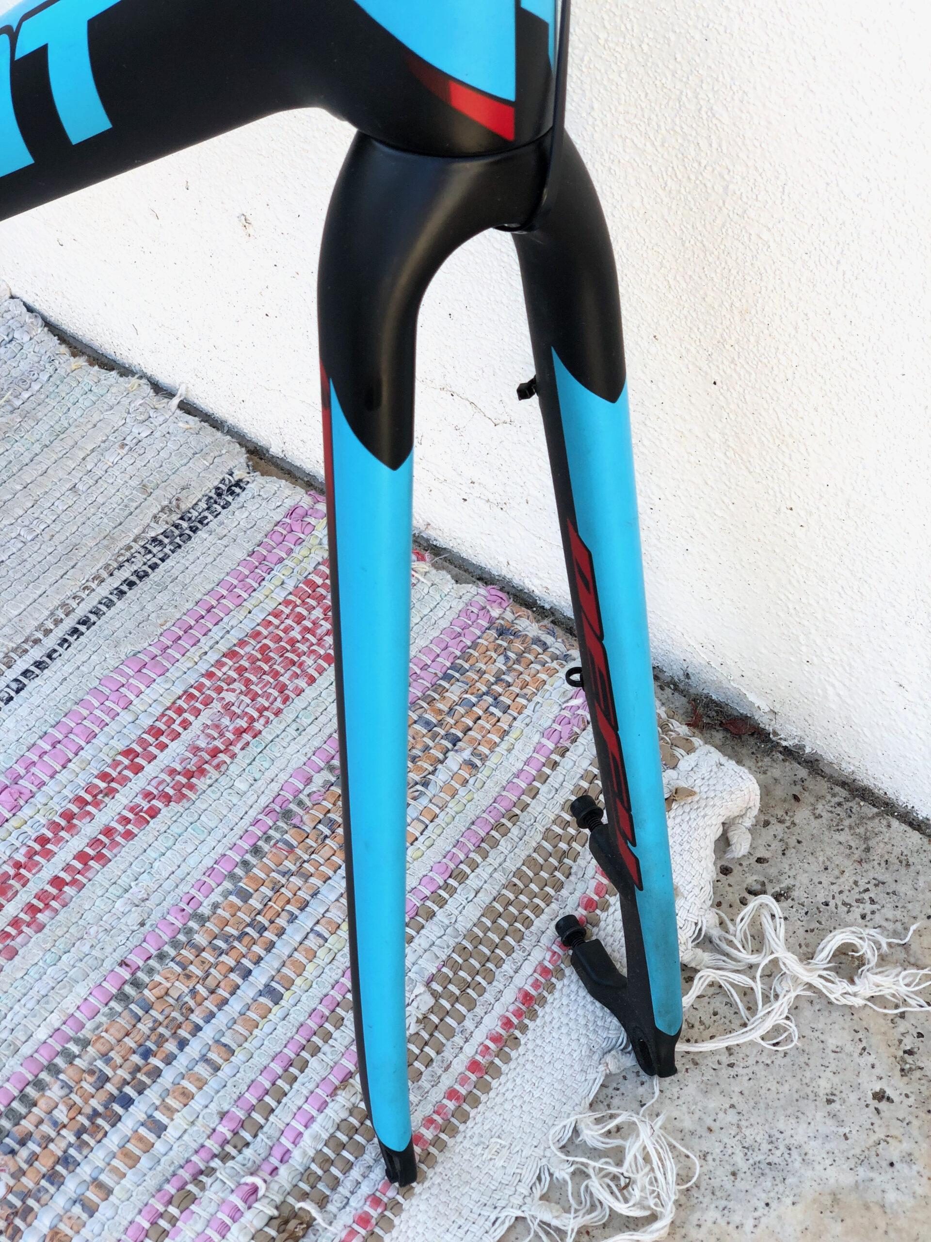 Giant Defy Advanced SL 0 Disc Carbon Road Bike Frameset w Integrated Seatpost Large